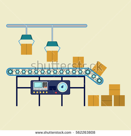 Assembly Line Stock Vectors, Images & Vector Art.