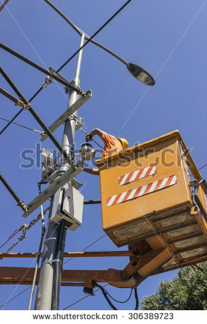 Overhead Lines Stock Photos, Royalty.