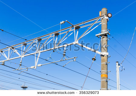Overhead Wiring Stock Photos, Royalty.