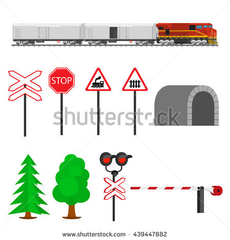 Train Signal Stock Photos, Royalty.