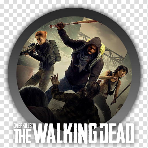 Overkill The Walking Dead Icon transparent background PNG.