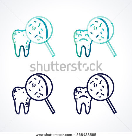 Overlapping Teeth Stock Images, Royalty.