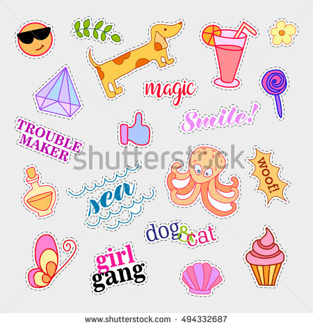 Fabric Patch Stock Photos, Royalty.