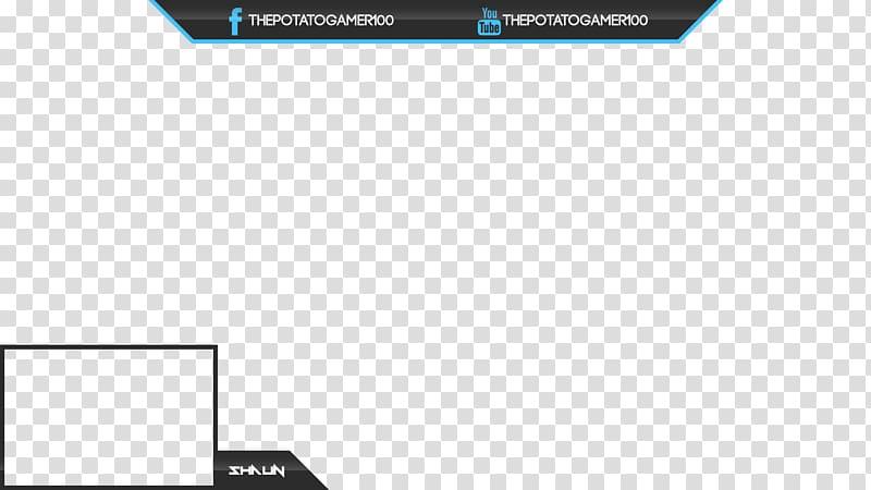 The Potato Gamer illustration, Streaming media Twitch Logo.