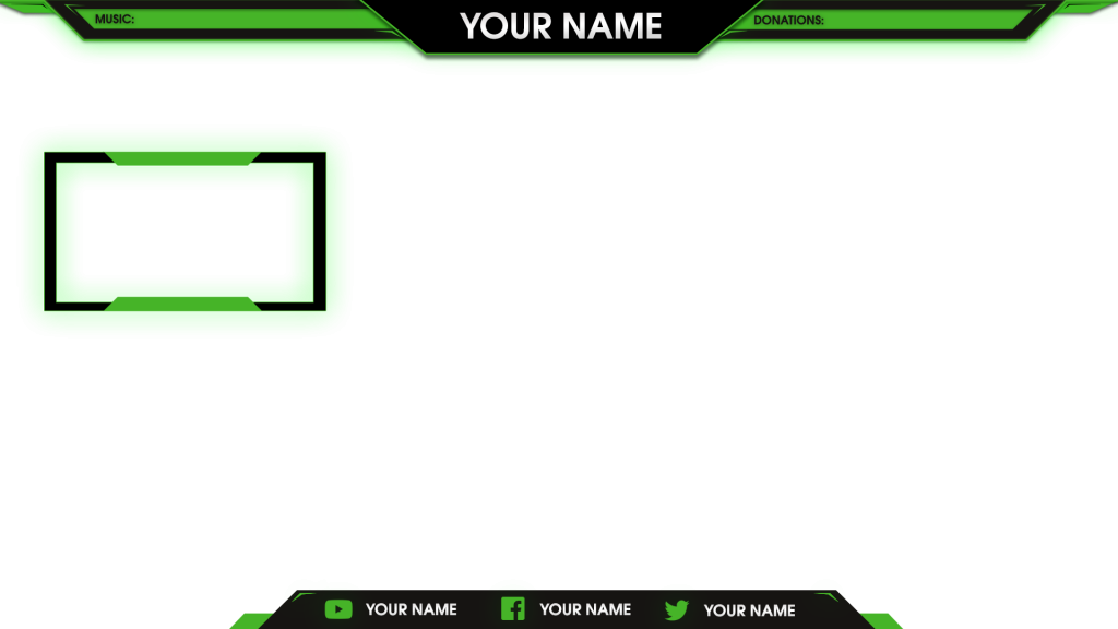 Preview Stream Overlay Template Png.