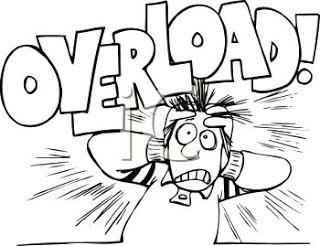 Brain Overload Clipart.