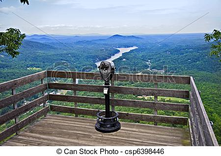Stock Image of Scenic Overlook.