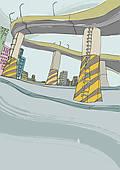 Overpass Clip Art.