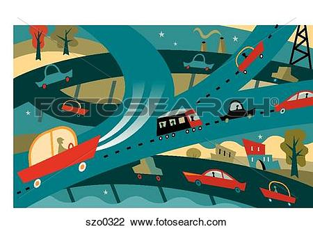 Overpass Illustrations and Stock Art. 225 overpass illustration.