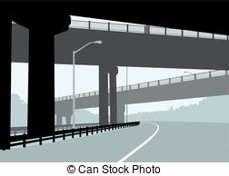 Overpass Vector Clipart EPS Images. 170 Overpass clip art vector.