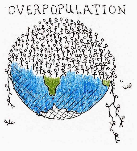 Overpopulation clipart.