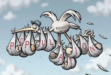 Effect of Overpopulation.