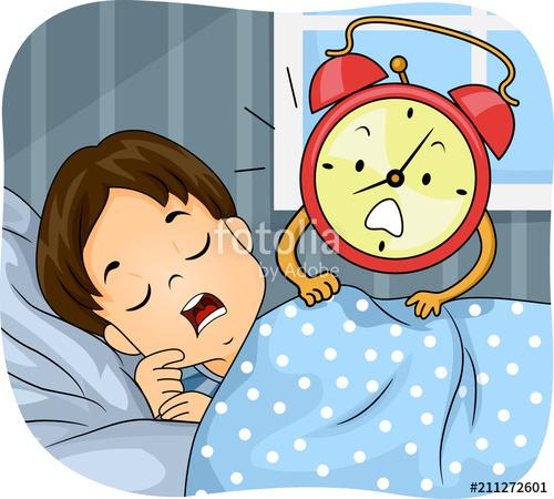 Oversleeping Man\