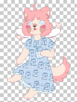 Illustration Mammal Clothing Pink M, overslept PNG clipart.
