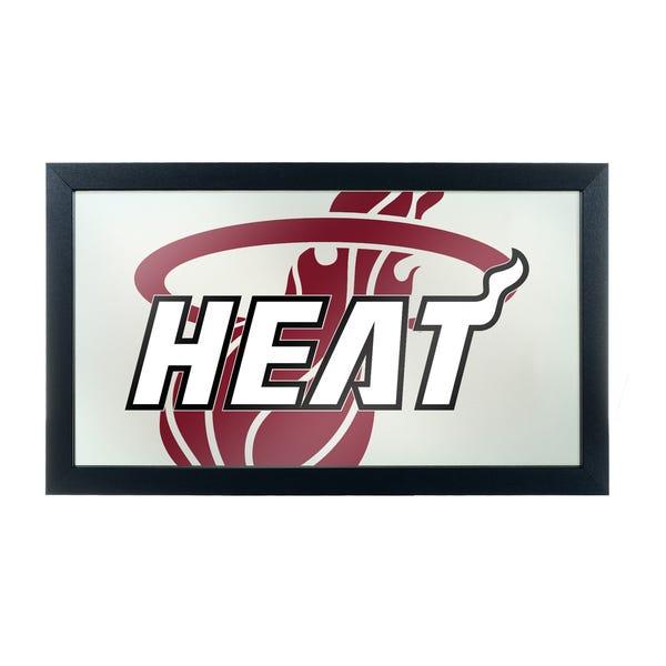 Shop NBA Framed Logo Mirror.
