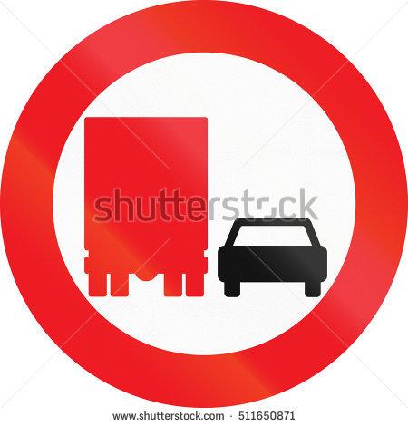 no Passing Sign