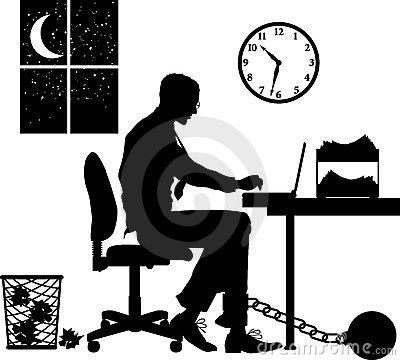 Overtime Stock Illustrations.