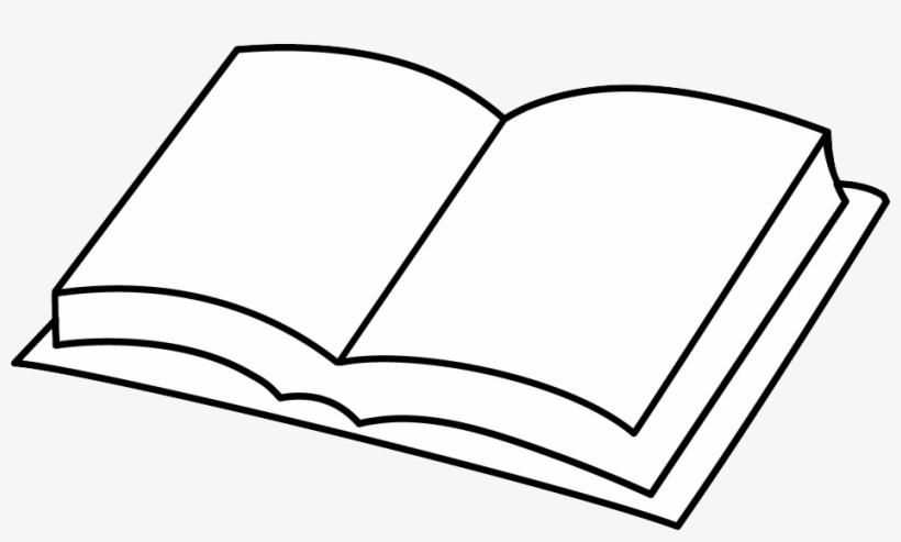 Hd Overview Open Book Clip Art.