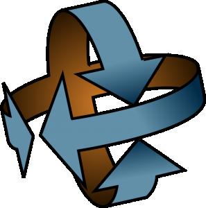 Arrows 2 Axis Clip Art Download.