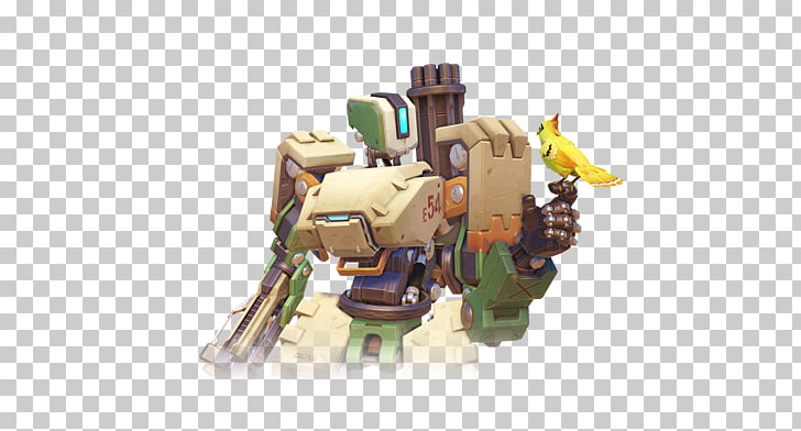 Characters of Overwatch Bastion PlayStation 4 Video game.