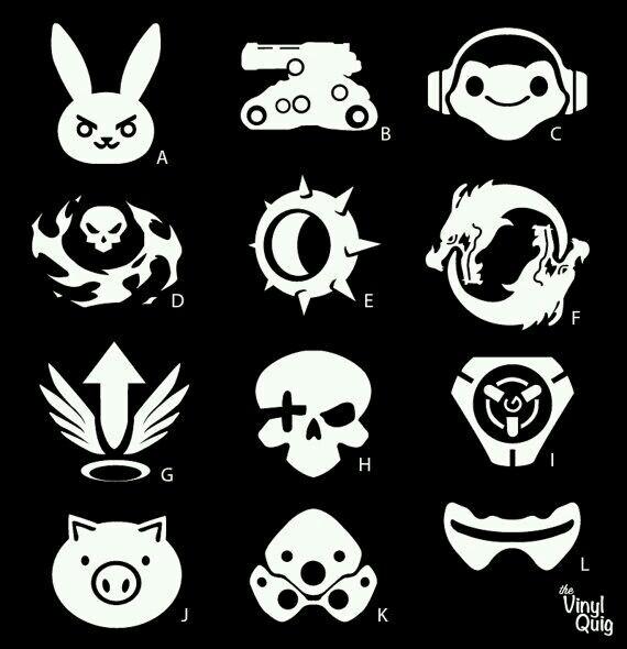Overwatch #Logo #character.