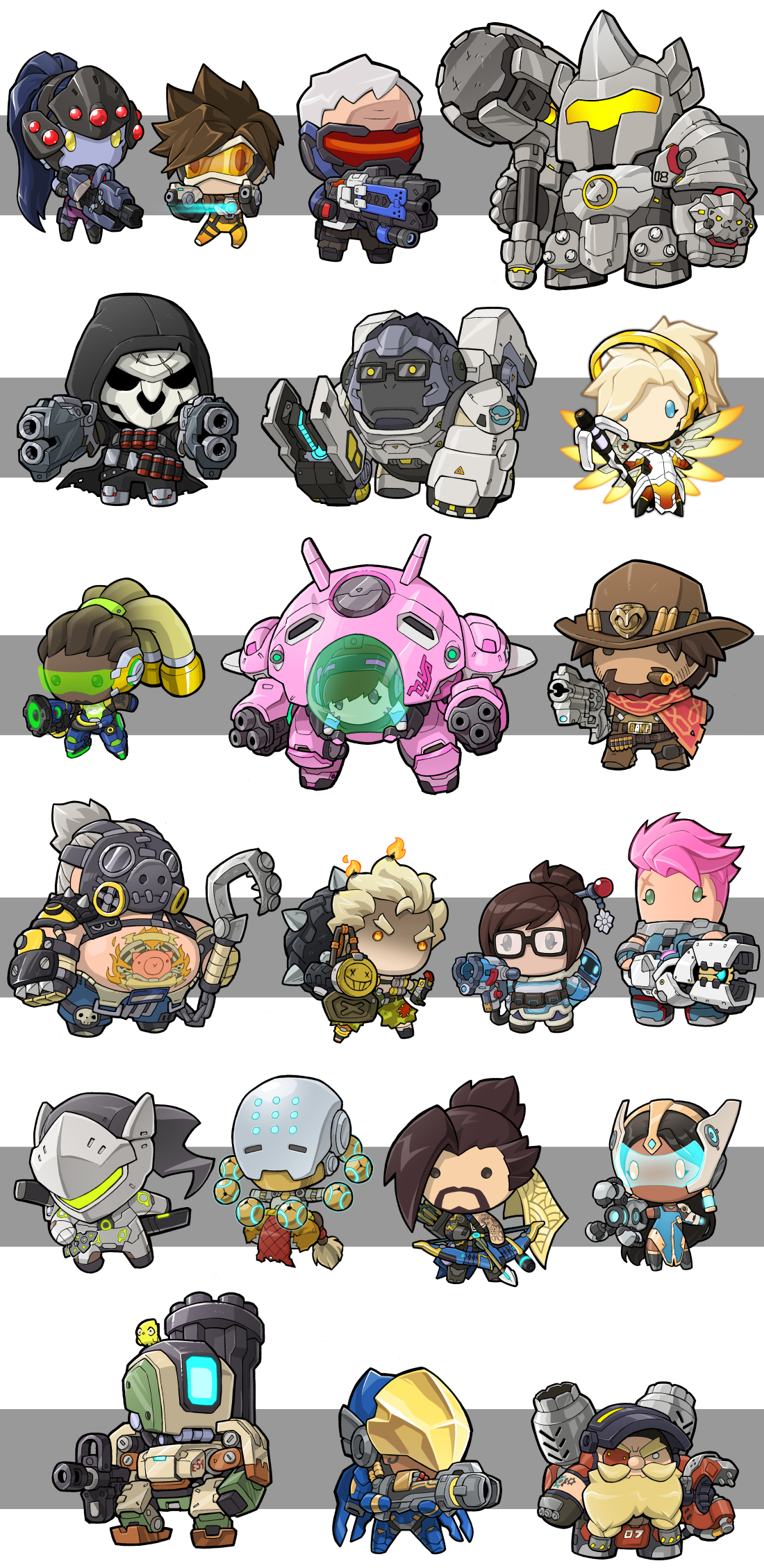 overwatch character clipart clipground