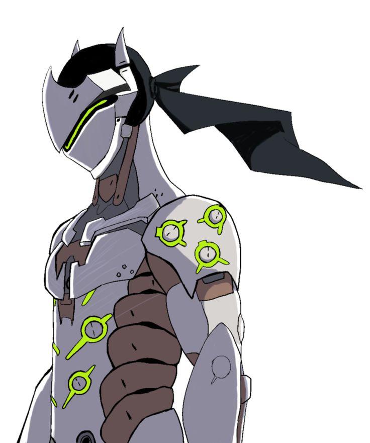 Genji overwatch clipart.