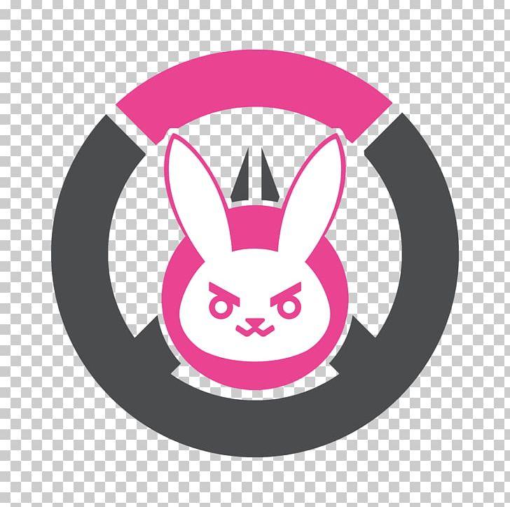 Overwatch D.Va Logo Decal Sticker PNG, Clipart, Art, Circle.