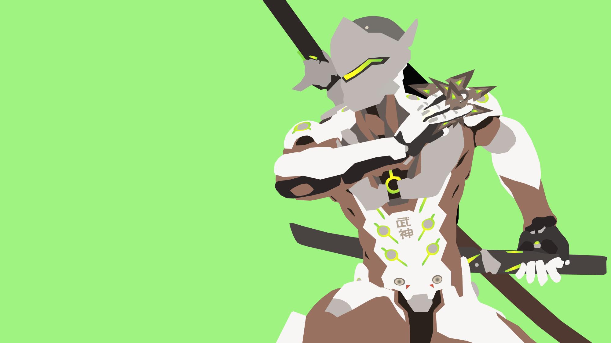 Genji from Overwatch by Reverendtundra on DeviantArt.