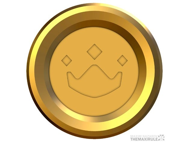 Overwatch Gold Medal by Themaxirule.