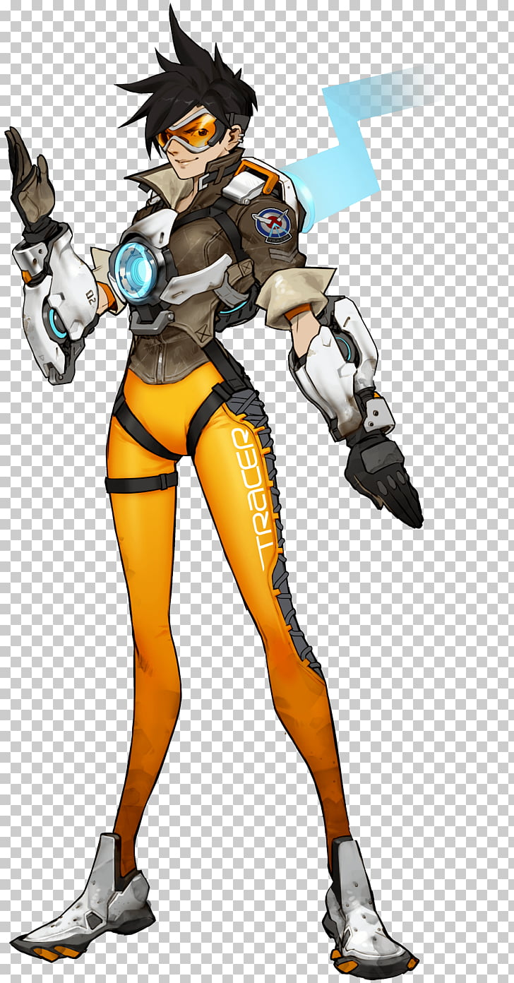 Characters of Overwatch Heroes of the Storm Tracer Blizzard.