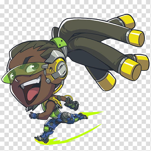 Icons Heroes Overwatch, Lucio transparent background PNG.