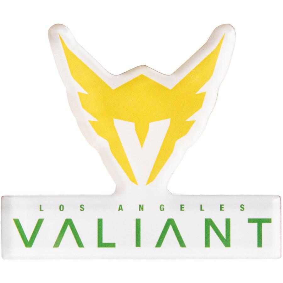 Los Angeles Valiant Overwatch League Team Logo Die.