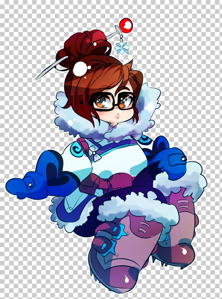 Overwatch Mei Canada , Canada PNG clipart.
