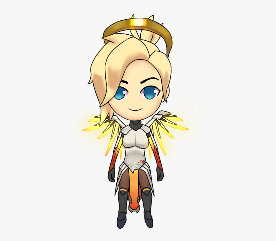 Overwatch Mercy Gif Png, Cliparts & Cartoons.