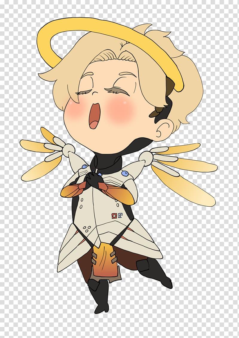 Overwatch Mercy Kavaii Manga Chibi, Overwatch emoji.