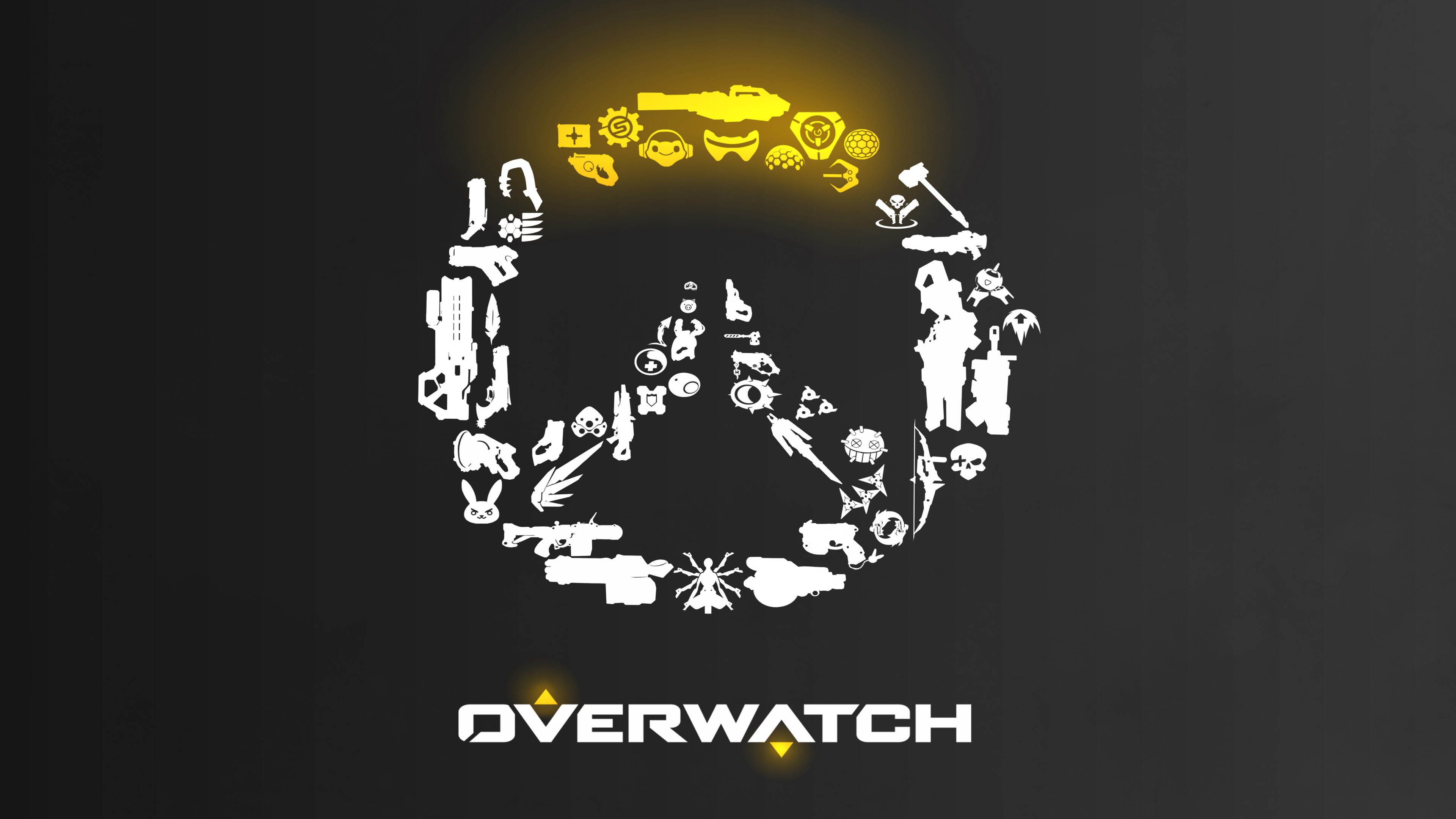 Overwatch Minimalist Clipart.