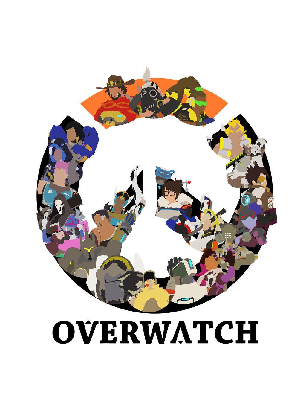 Overwatch Minimalist Logo by DoodledorkArt on DeviantArt.
