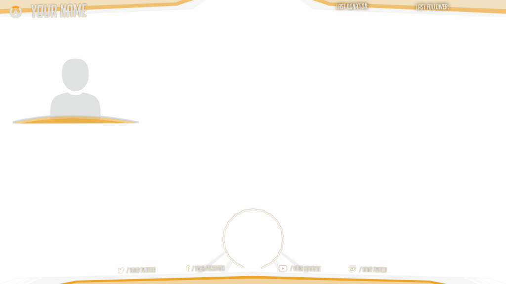 22 STREAM OVERLAY TEMPLATE.