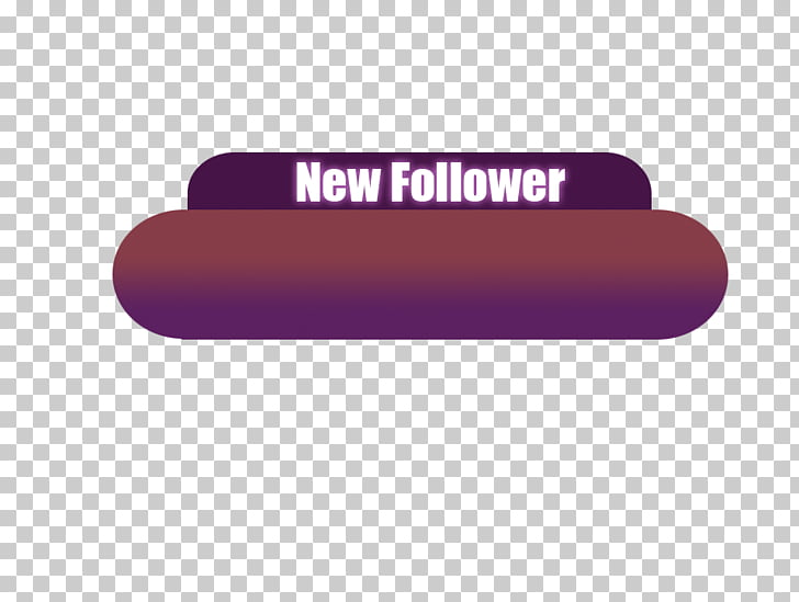 Digital art Twitch Overwatch, others, new follower text PNG.