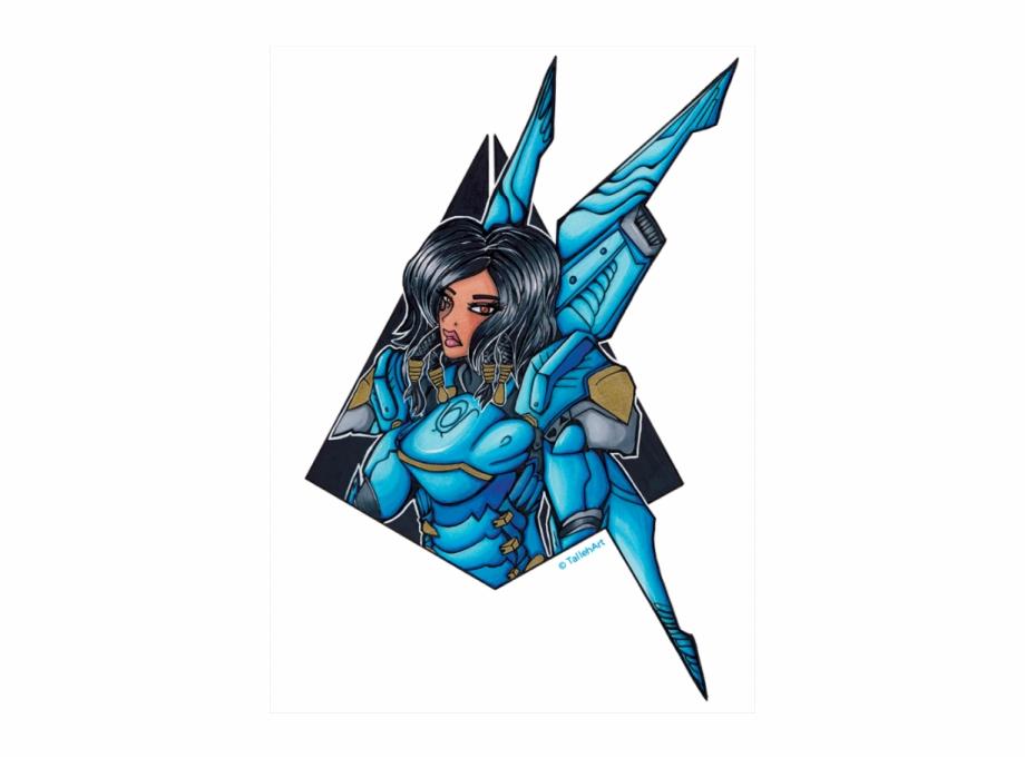 Overwatch Pharah Print.