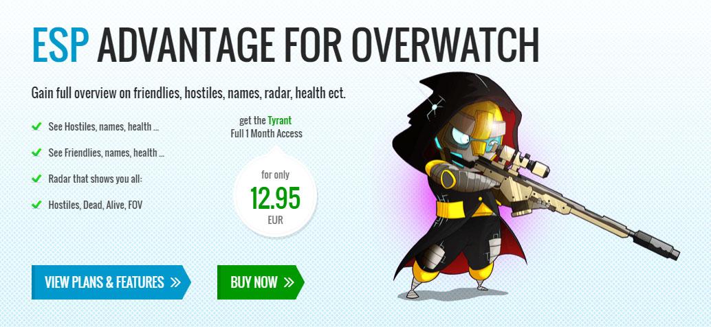 Blizzard Taking Overwatch Cheat Maker To Court.