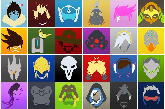 Showing post & media for Overwatch character symbols.