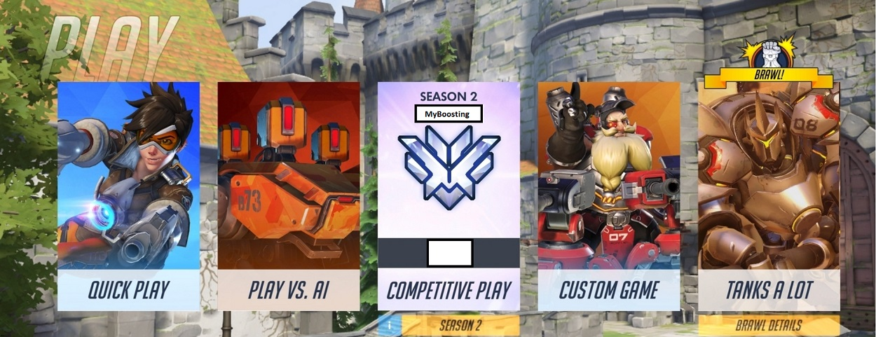 TOP 500 OVERWATCH BOOST! Competitive season 2!.
