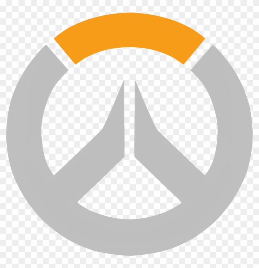 Overwatch Logo Black And White , Png Download.