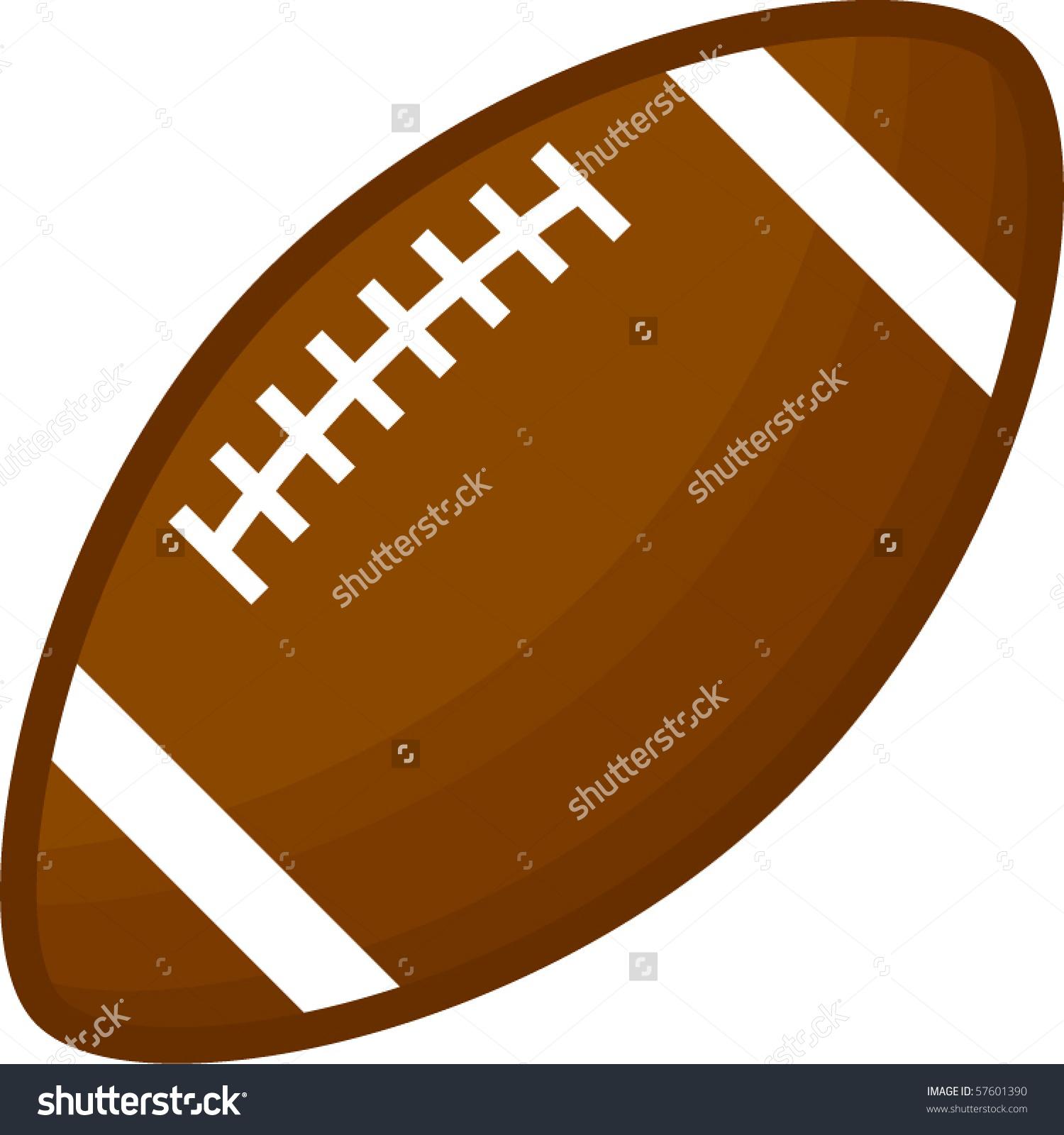 Football Ovoid Stock Vector 57601390.