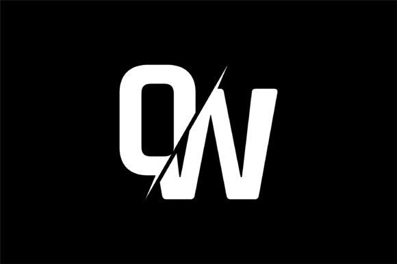 Monogram OW Logo Design.