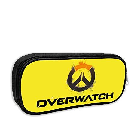 Amazon.com : HSUASAI Overwatch OW Logo Pencil Case Pen Bag.