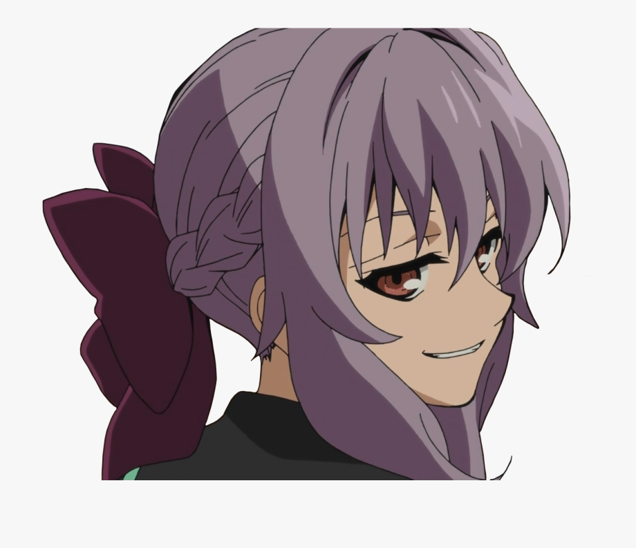 Owari No Seraph Shinoa Smug , Transparent Cartoon, Free.