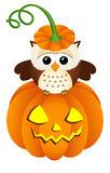 Owl Design Stock Image.